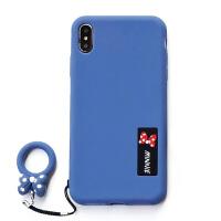 iPhone6手机壳6splus硅胶防摔6s男女款网红同款磨砂指环壳6plus