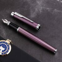 派克钢笔IM丁香紫白夹墨水笔签字笔商务学生用女孩