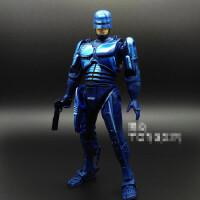 7寸机械机器战警铁甲威龙墨菲电影游戏关节可动人偶手办模型NECA