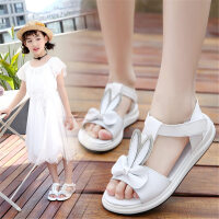 女童凉鞋夏季中大童公主鞋小女孩儿童时尚女童鞋真皮