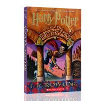 英文原版 Harry Potter and the Sorcerer's Stone 哈利波特与魔法石1 J.K. Ro
