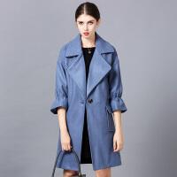 大衣女2018冬季新款韩版中长款过膝加厚毛呢外套女冬气质呢子