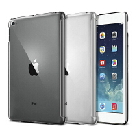 ikodoo爱酷多 苹果iPad air2保护壳 ipad6透明水晶保护壳 ipad air2 smart cover伴侣背壳 ipadair2保护套 ipad6保护套 ipadair2保护壳 ipad6保护壳