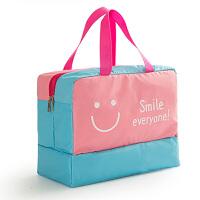 游泳包防水泳衣袋子干湿分离专用包女装备用品收纳包手提儿童泳包