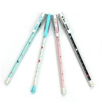 晨光文具 中性笔学生办公黑色中性笔0.38水笔 可爱创意 AGP68402 一盒12支