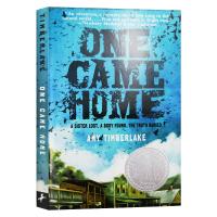 华研原版 寻找阿加莎 英文原版小说 One Came Home 回家 全英文版进口英语书籍 儿童文学小说 纽伯瑞银奖正