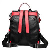 双肩包女2018新款韩版女士背包女双肩软皮书包休闲旅行包女