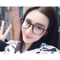 防辐射眼镜框女韩版潮复古圆脸方形护目小清新文艺韩国显瘦平光镜