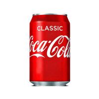 Coca Cola Classic可口可乐汽水经典原味330ml(可口可乐官方进口 英国)