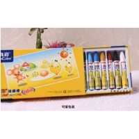 真彩2006 12色油画棒 蜡笔 六角形油画棒 精品盒装 学生文具