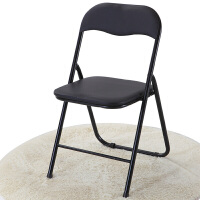 会议折叠椅子家用电脑休闲座椅简易办公室靠背椅凳子靠椅餐椅