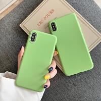 抹茶绿oppor9手机壳r7纯色r11s/r17网红r15x简约k1硅胶a57软壳a37女款a59s