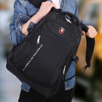 旅游旅行背包男女双肩包男士商务电脑包高中学生书包