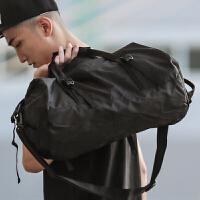 时尚新款健身包训练包折叠旅行包斜挎手提单肩女潮男包运动篮球包
