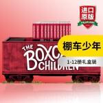 棚车少年1-12册礼盒装 英文原版 The Boxcar Children Bookshelf 英文版原版英语章节桥梁