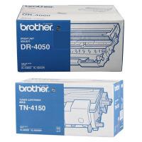原装兄弟 Brother TN-4150 大容量黑色墨粉盒仓 DR-4050 黑色硒鼓 鼓架 适用于兄弟 HL-605