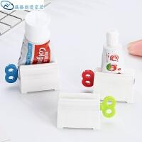 创意手动牙膏挤压器 家居挤牙膏夹座式浴室用品 洗面奶挤压器