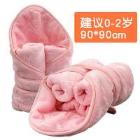 新生儿婴儿抱毯抱被春秋初生儿宝宝用品毛毯外出包被加厚被子冬季