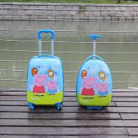 儿童拉杆箱男女旅行箱 卡通潮款万向轮登机皮箱1618寸小孩行李箱