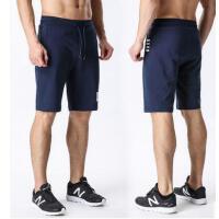 健身 春夏季宽松休闲卫裤 纯棉五分裤 运动短裤男 男士跑步健身短裤