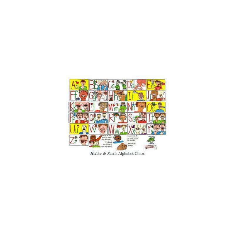【预订】Holder & Fastie Alphabet Chart (25-Pack 8 1/2 X 11Charts) 9780130325297 美国库房发货,通常付款后3-5周到货!