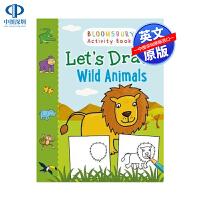英文原版 让我们来画野生动物(Adlard Coles海事经典) Let's Draw Wild Animals (Ad