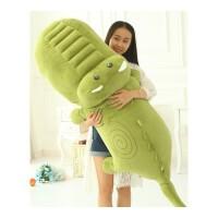 鳄鱼公仔大号毛绒玩具睡觉抱枕卡通枕头可爱布娃娃玩偶女生日礼物 抖音