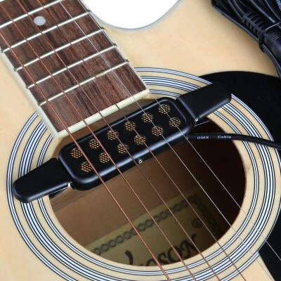 免开音孔民谣吉他拾音器乐器用配件 KQ-3原声木吉他拾音器