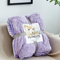 双层加厚珊瑚绒毯子冬季羊羔绒毛毯单人双人午睡沙发毯学生宿舍被