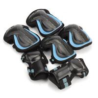 轮滑护具护膝护腕全套装 儿童男女滑冰旱冰溜冰鞋长滑板手套
