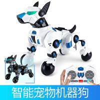 特价包邮智能机器狗充电动遥控会走比特犬杜高宠物人儿童玩具陪伴小狗