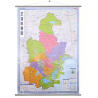 正版新书《2017年 天津市地图挂图 挂绳版 1:20万 (膜图)》 9787802127371