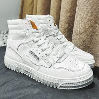 冬季高帮鞋男韩版潮流百搭鞋子男潮鞋棉鞋男加绒保暖运动高邦板鞋