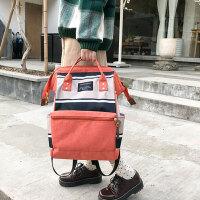 书包女双肩包韩版学院风休闲手提学生包旅行时尚背包妈咪包防盗包