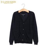 【1件2折价:99.6元】Elankids衣恋童装新品男童针织开衫 长袖休闲衫