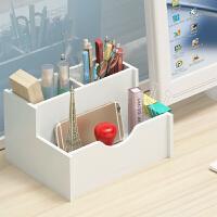 韩国小清新多功能笔筒可爱大容量办公用品简约学生办公桌面收纳盒