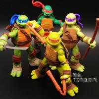 忍者神龟2电影玩具手办可动人偶模型SHF武器汽车摆件公仔生日礼物
