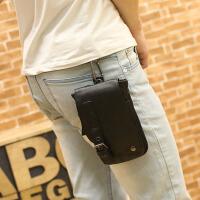 潮流时尚男士腰包斜挎包多用小包男包烟包小背包单肩包手机包潮