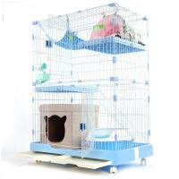 【支持礼品卡】猫别墅猫咪笼子双层三层大型号猫舍 猫笼别墅家用猫笼室内 hr4