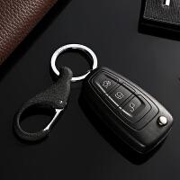 汽车钥匙扣男士腰挂钥匙圈环简约钥匙链情侣挂件