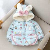 女童冬装宝宝0-3岁棉衣上衣外套保暖加厚棉袄婴幼儿童衣服