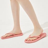 【1件4折到手价:19.6】美特斯邦威凉拖鞋女士夏时尚外穿平底夹脚沙滩鞋海边百搭人字拖