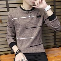 男士毛衣薄款潮流春季韩版圆领衣服线衫学生男装长袖打底针织衫