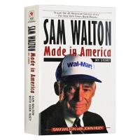 富甲美国沃尔玛创始人山姆沃尔顿自传 英文原版 Sam Walton Made in America 人物传记 刘强东佐