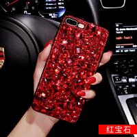 苹果6s手机壳全包女款潮iphone6硅胶套欧美创意红水钻6splus大气