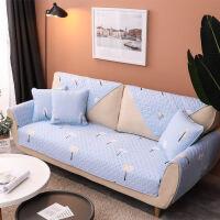 全棉中式沙发垫套布艺四季通用型实木沙发罩双人单人坐垫防滑