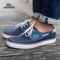 法国鳄鱼LACOSTE 新款男鞋 低帮板鞋帆船鞋 运动休闲鞋 29SRM2407