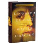列奥纳多达芬奇传 英文原版人物传记 Leonardo da Vinci 乔布斯传作者 比尔盖茨 莱昂纳多 文艺复兴 蒙娜