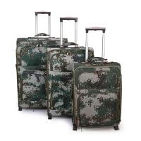 新款户外男女迷彩通用20寸24寸28寸拉杆箱旅行箱行李登机箱包