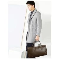 时尚 单肩韩版斜挎包男士旅行包横款 大容量户外休闲手提包男士背包